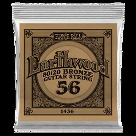 Ernie Ball Earthwood 1456 80/20 Bronze Acoustic Guitar Single 56