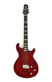 Line 6 Variax 700 Tremolo Translucent Red MIJ Gitara Elektryczna