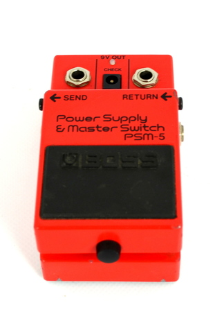 Boss Power Supply & Master Switch PSM-5