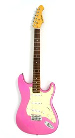 Aria STG Series Pink Gitara Elektryczna