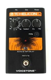 TC Helicon VoiceTone E1 Efekt