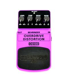 Behringer Overdrive Distortion OD 100
