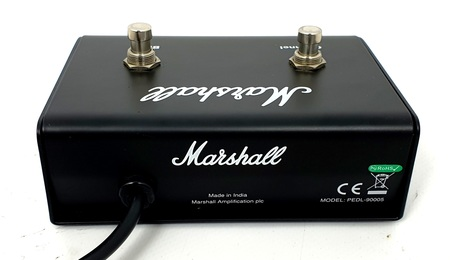 Marshall M-PEDL-90005 2 Channel Footswitch for MB Bass Amplifiers Repack 1