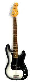 Benson Precision Bass Silver Burst Gitara Basowa