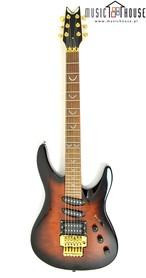 Dean DS 92 Sunburst Gitara Elektryczna wyprodukowana na początku lat 90-tych w Korei