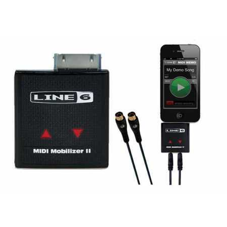Line 6 MIDI Mobilizer II IPhone IPad