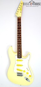 Hondo Pearl White MIJ Gitara Elektryczna Japonia
