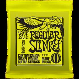 ERNIE BALL EB 2221 Regular Slinky Struny Do Gitary Elektrycznej 10-46