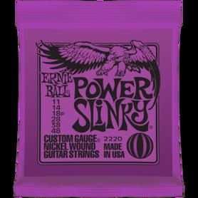 ERNIE BALL EB 2220 Power Slinky Struny Do Gitary Elektrycznej 11-48