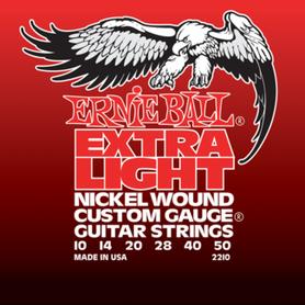 ERNIE BALL 2210 Struny Do Gitary Elektrycznej 10-50