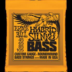 Ernie Ball EB 2833 Hybrid Slinky Bass Struny Do Gitary Basowej 45-105