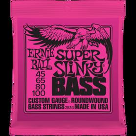 Ernie Ball EB 2834 Super Slinky Bass Struny Do Gitary Basowej 45-100