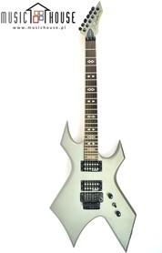 BC Rich Dark Arts Warlock Satin Gray Gitara Elektryczna