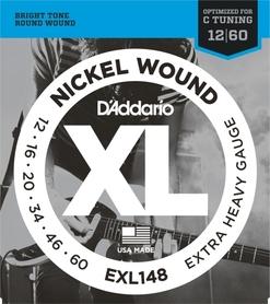 D'Addario EXL148 struny do gitary elektrycznej 12-60