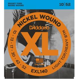 D'Addario EXL140 struny do gitary elektrycznej 10-52