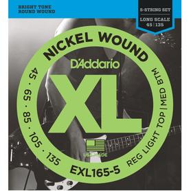 D'ADDARIO EXL165-5 struny do gitary basowej 5 strunowej