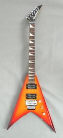 Jackson KVX King V Transparent Amber Japan Gitara Elektryczna