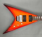 Jackson KVX King V Transparent Amber Japan Gitara ElektrycznaJackson KVX King V Transparent Amber Japan Gitara Elektryczna