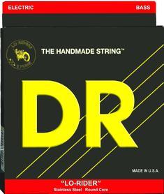 DR LH-40 Lo Rider 40-100 Lite Bass struny do gitary basowej.