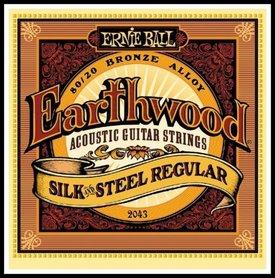 Ernie Ball EB 2043 Earthwood Silk & Steel Regular Strings Struny do gitary akustycznej 13-56