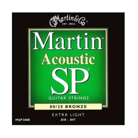 Martin MSP3000 10-47 Studio Performance struny do gitary akustycznej