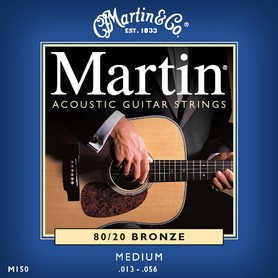Martin M150 Bronze Wound Medium Set struny do gitary akustycznej