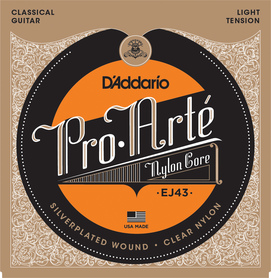 D'ADDARIO EJ43 struny do gitary klasycznej light