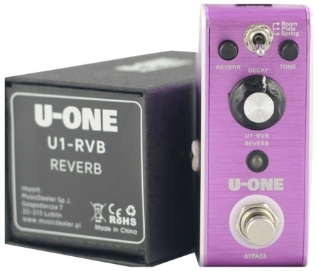 U-One Holly Mirror-Reverb - efekt gitarowy