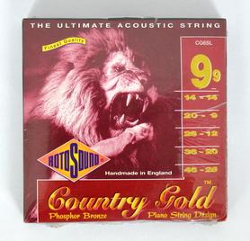 Rotosound country Gold CG6SL struny do gitary akustycznej