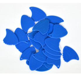 Landstrom 10H Sharkfin Plectra-Blue/Hard (Skunk) kostki 10 sztuk