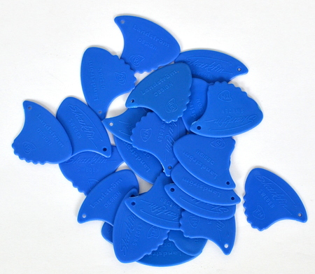 Landstrom 10H Sharkfin Plectra-Blue/Hard (Skunk)kostki 10 sztuk