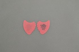 Jim Dunlop 414R50 Tortex Fin 0.50mm Red Plectra kostki 10 sztuk