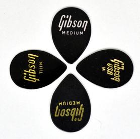 Gibson Thin Pick-Medium teardrop kostki 10 sztuk