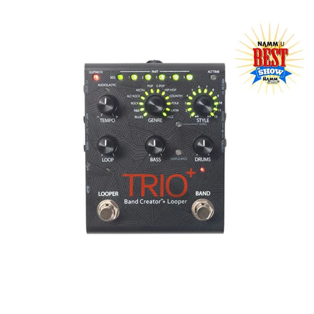 DigiTech Trio+ Band Creator, with Looper and FX-Loop (1)
