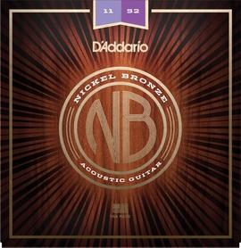 DADDARIO NB1152 struny do gitary akustycznej i elektroakustycznej nickel bronze 11-52