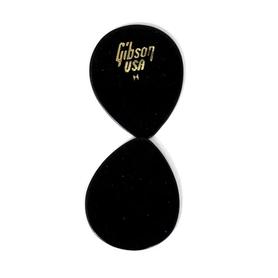 Gibson 33GG50H Heavy,Black Jazz Style Plectra kostki 1 sztuka