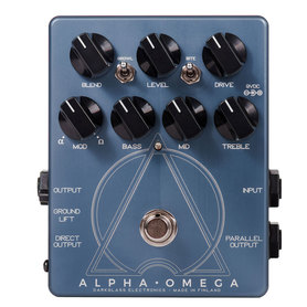 Darkglass Alpha Omega basowy preamp distortion