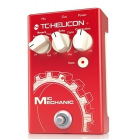 TC Helicon Mic Mechanic 2 Reverb/Echo/Correction