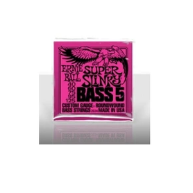 Ernie Ball EB 2824 Super Slinky Bass 5 Struny do gitary basowej