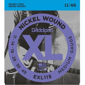 DADDARIO EXL115 11-49 struny do gitary elektrycznej