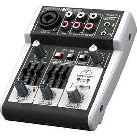 BEHRINGER XENYX 302USB mikser audio