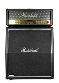 Marshall MF350 Mode Four Head + Marshall MF450 A Kolumna Gitarowa