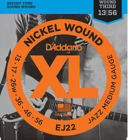 D'Addario EJ22 Electric Guitar Strings 13 - 56