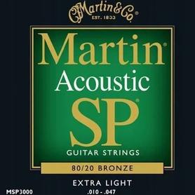 Martin MSP-3000 Bronze 10-47 Struny do git.