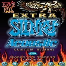 Ernie Ball EB 2150 Acoustic Custom Gauge 10-50