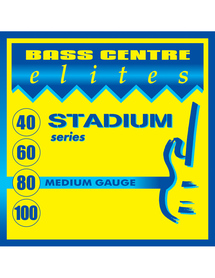 Bass Centre Elites Stadium Series Stainless Strings Medium 40-100