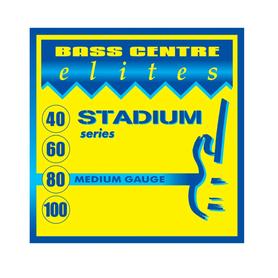 Bass Centre Elites Stadium Series Stainless Strings Medium 40-100