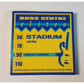 Bass Centre Elites Stadium Series Stainless Strings, Heavy, 50-110