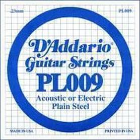 Struna do gitary akustycznej/elektr DADDARIO PL009