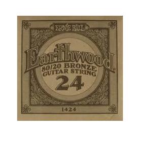 Ernie Ball Earthwood 1424 80/20 Bronze Acoustic Guitar Single 24